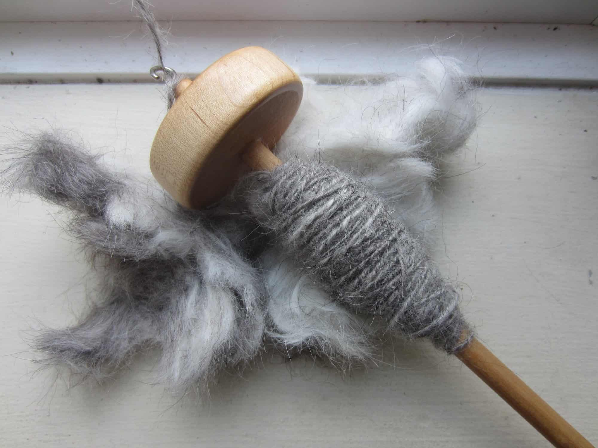 dog hair yarn