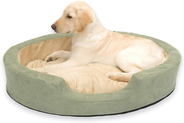 81eiwrkD9vL. AC SL1500 Thermo Snuggly Sleeper Pet Bed
