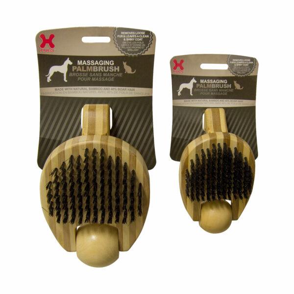 HUG 50009 Massaging Pet Palm Brush