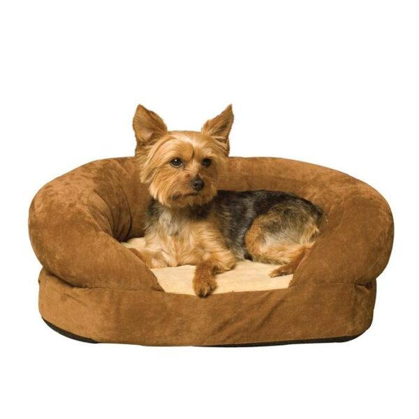 ortho bolster sleeper 4 695x695 Ortho Bolster Sleeper Pet Bed